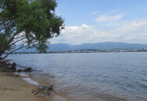 琵琶湖~(^O^)/