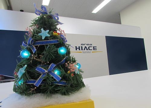 もうすぐクリスマスですね~♪