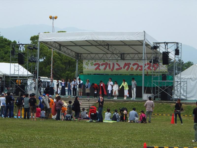 スプリングフェスタ㏌矢橋帰帆島公園、出張展示終了しました。