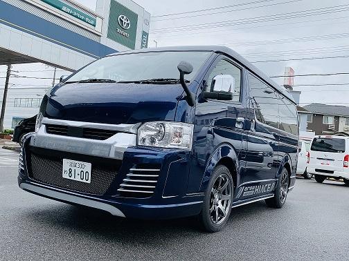 ワゴンデモカー完成!